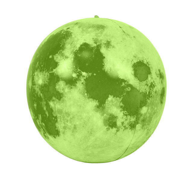 Inflatable Glow in the Dark Moon